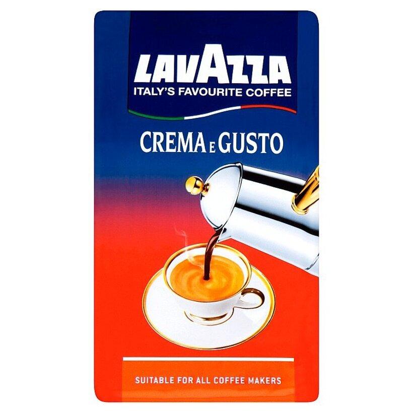 Lavazza Crema e Gusto mletá káva vybraná zmes 250 g