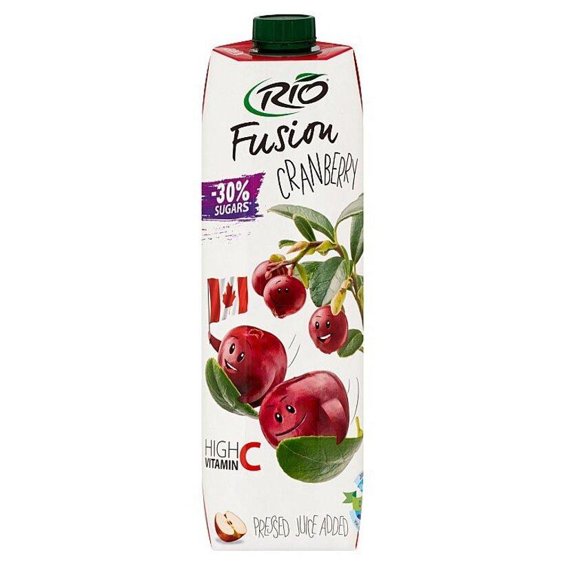 Rio Fusion Jablko - brusnica 1 l