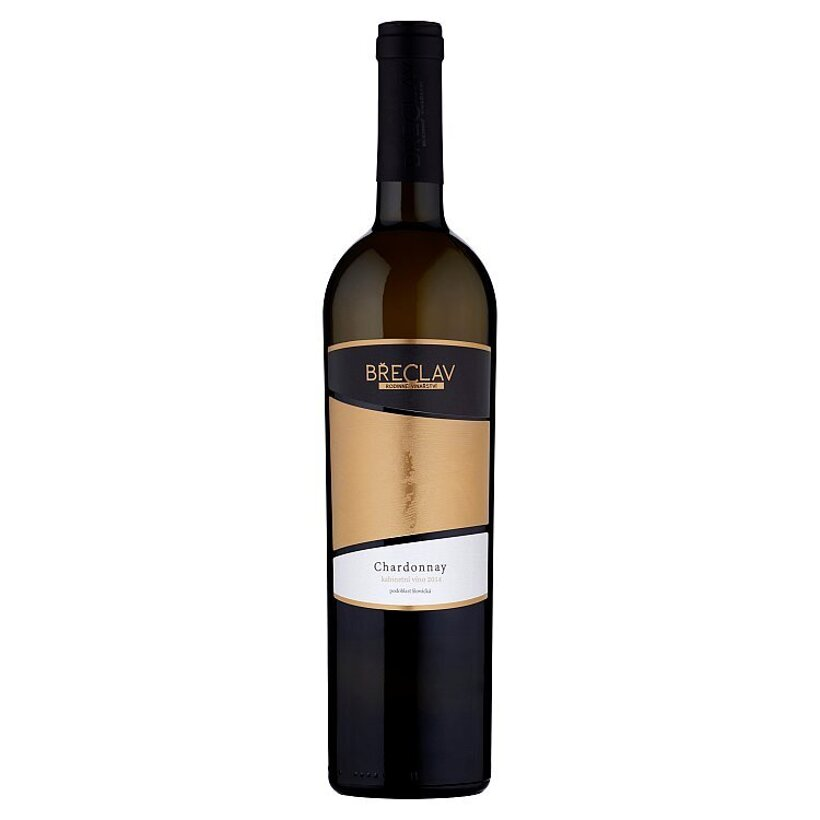 Rodinné Vinařství Břeclav Chardonnay kabinetné víno biele suché 0,75 l