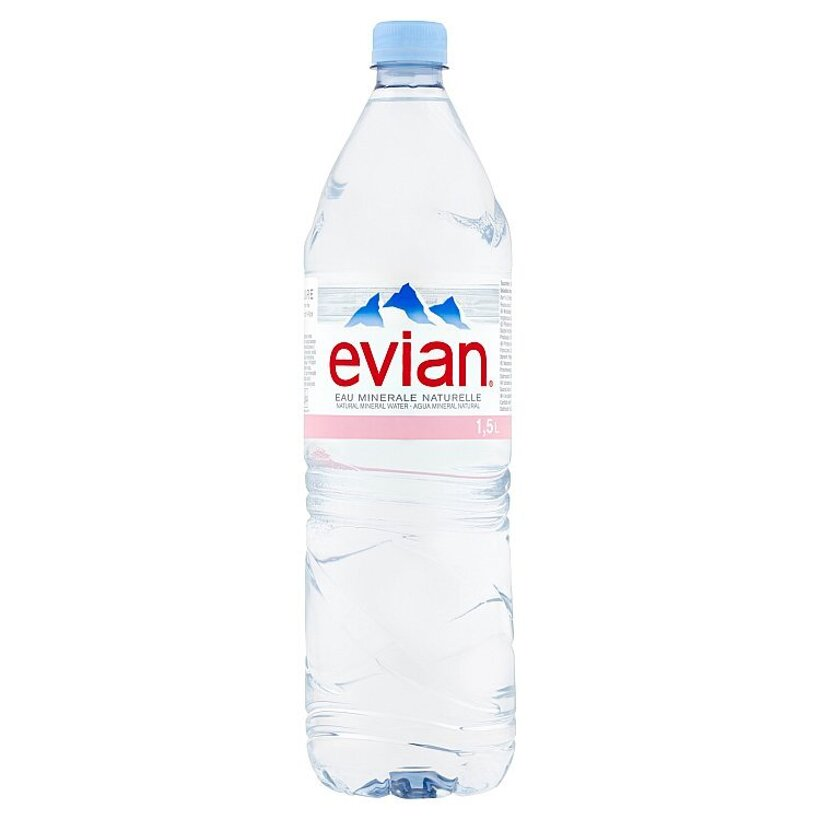 Evian Prírodná minerálna voda nesýtená 1,5 l