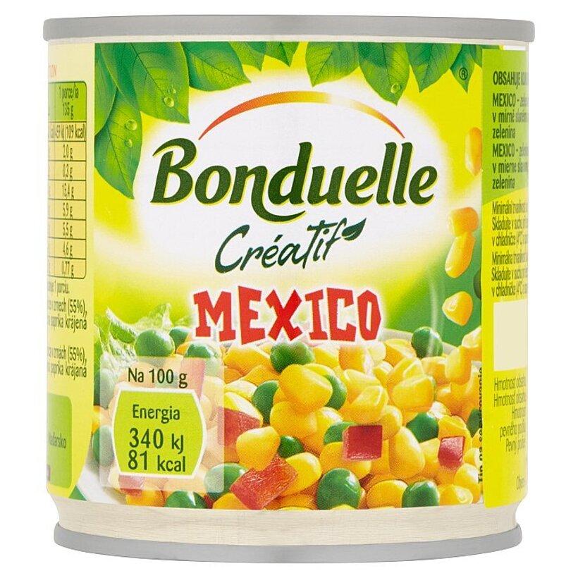 Bonduelle Créatif Mexico zeleninová zmes vákuovaná v mierne slanom náleve 170 g