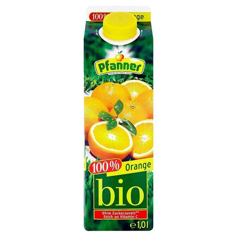 Pfanner Bio 100% pomarančová šťava 1,0 l