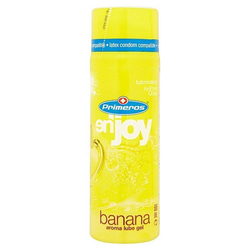 Primeros en'joy banana lubrikačný gél s banánovou arómou 100 ml