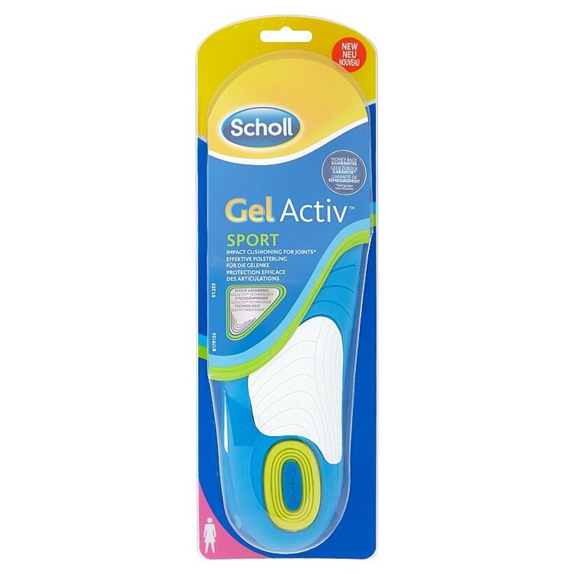 Scholl GelActiv - Vložky do topánok na šport