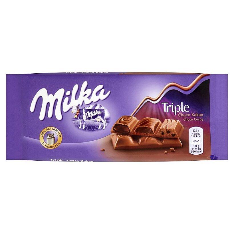Milka Tripple choco kakao 90 g