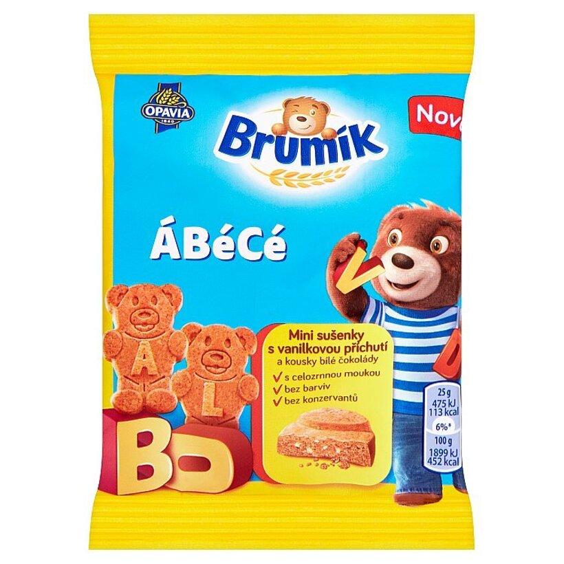 Opavia Brumík ÁBécé sušienky s vanilkovou príchuťou 25 g