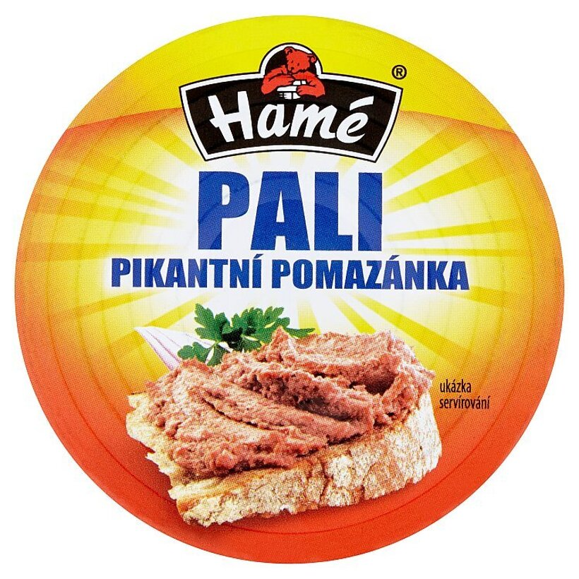 Hamé Pali pikantná nátierka 115 g