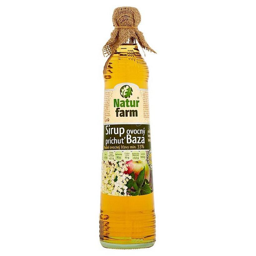 Natur Farm Ovocný sirup príchuť baza 0,7 l