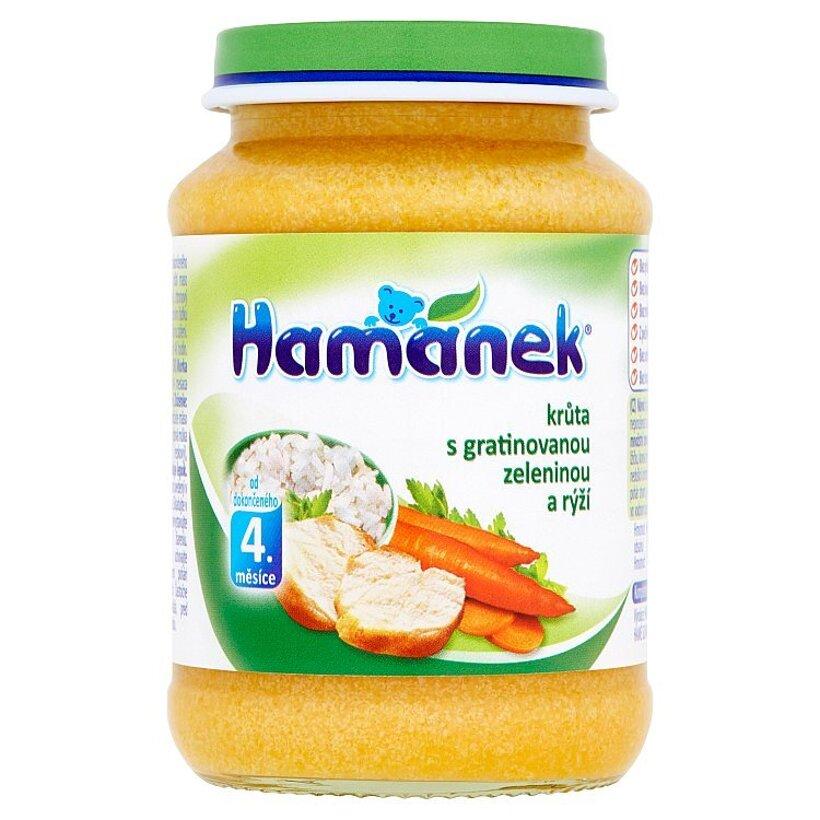 Hamánek Morka s gratinovanou zeleninou a ryžou 190 g