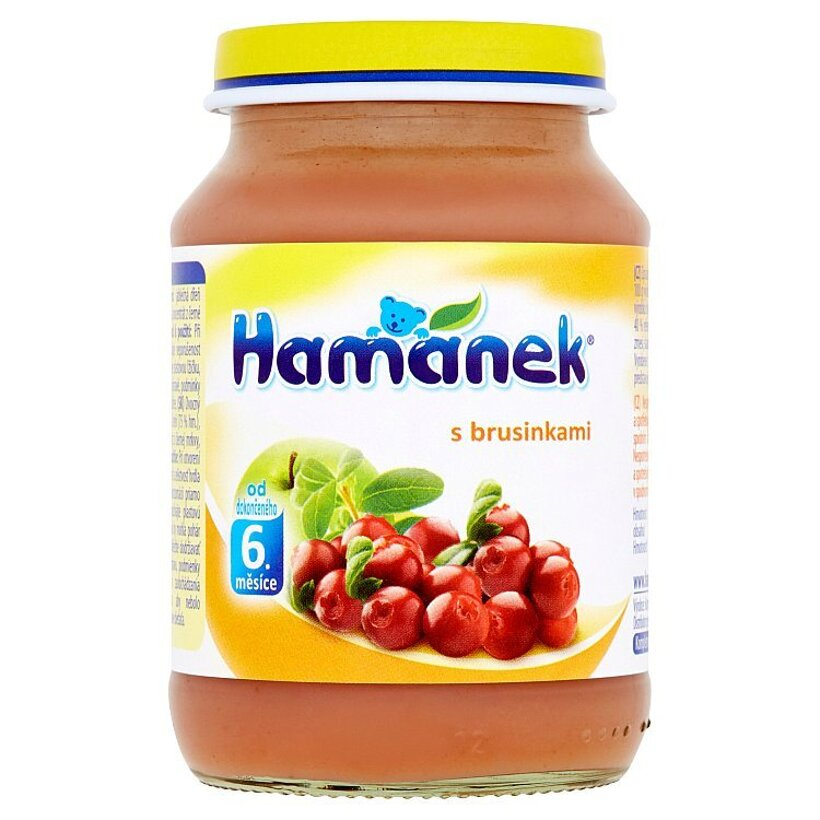 Hamánek S brusnicami 190 g