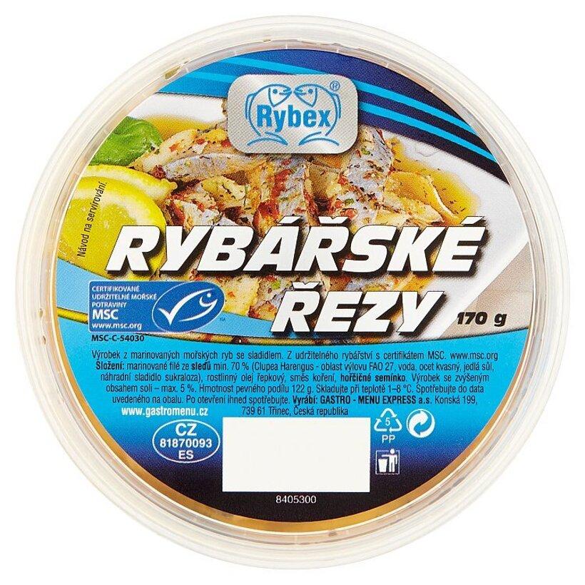 Rybex Rybárske rezy 170 g