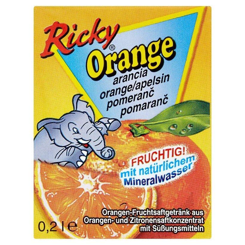Ricky Pomarančový nápoj 0,2 l