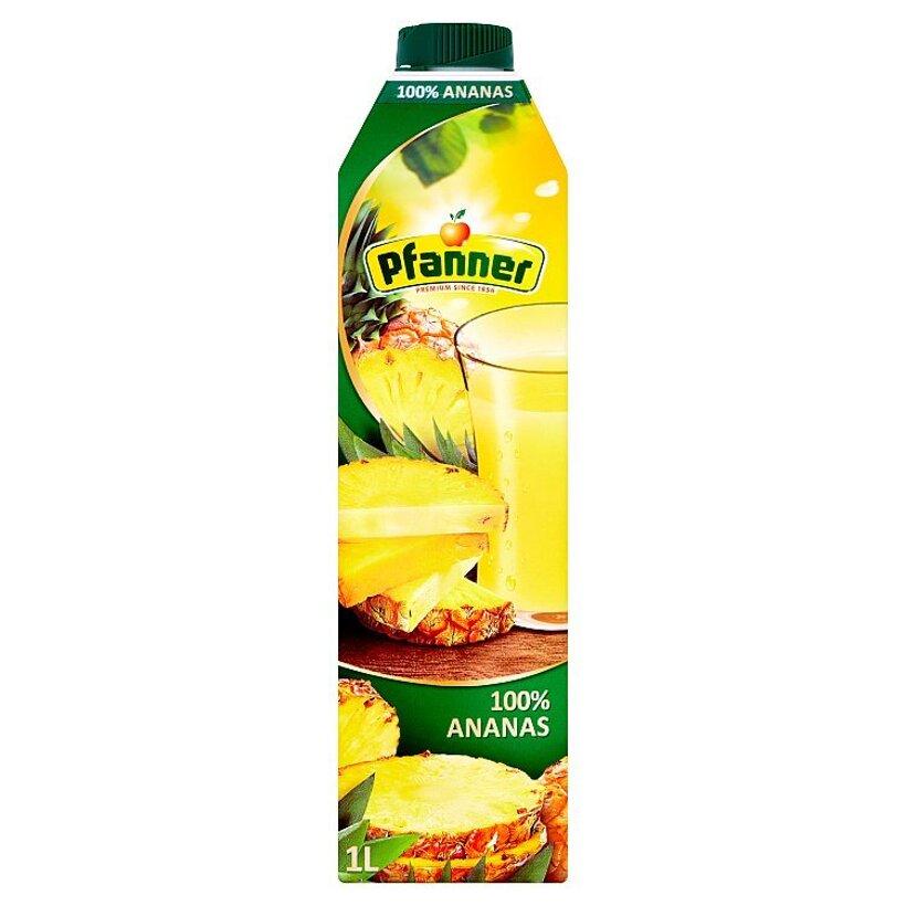 Pfanner 100% ananásová šťava 1 l