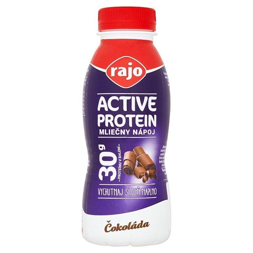 Rajo Active Protein Mliečny nápoj čokoláda 330 ml
