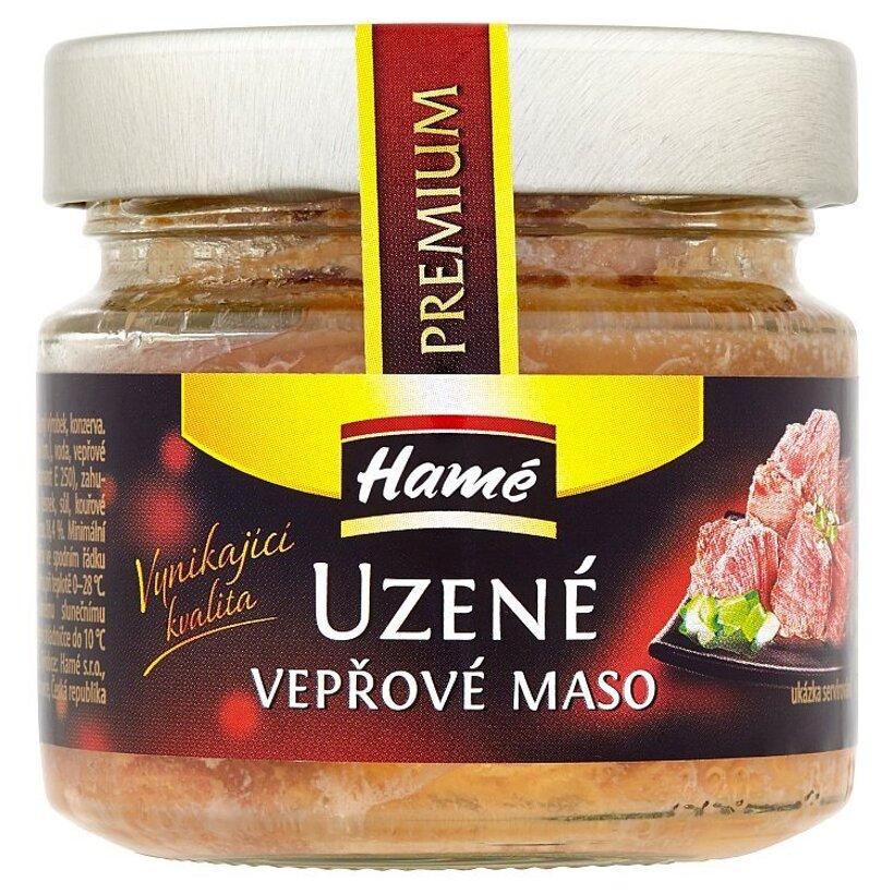 Hamé Premium údené bravčové mäso 170 g