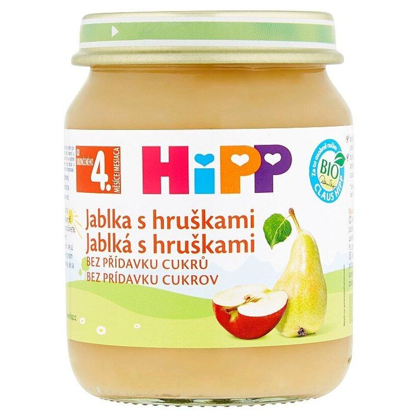 HiPP Bio jablká s hruškami  125 g
