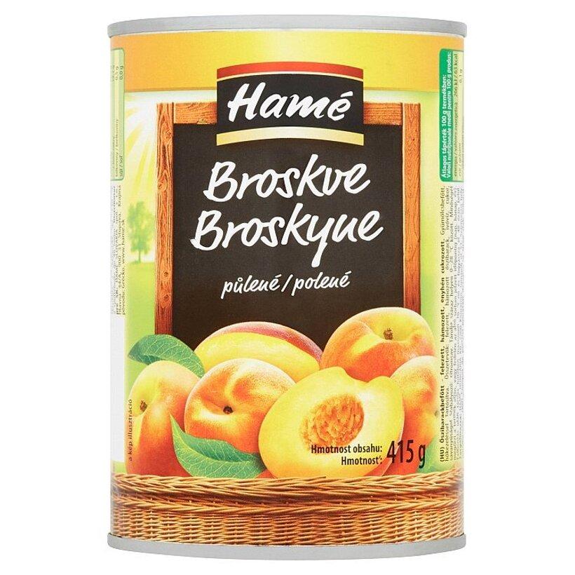 Hamé Broskyne polené 415 g