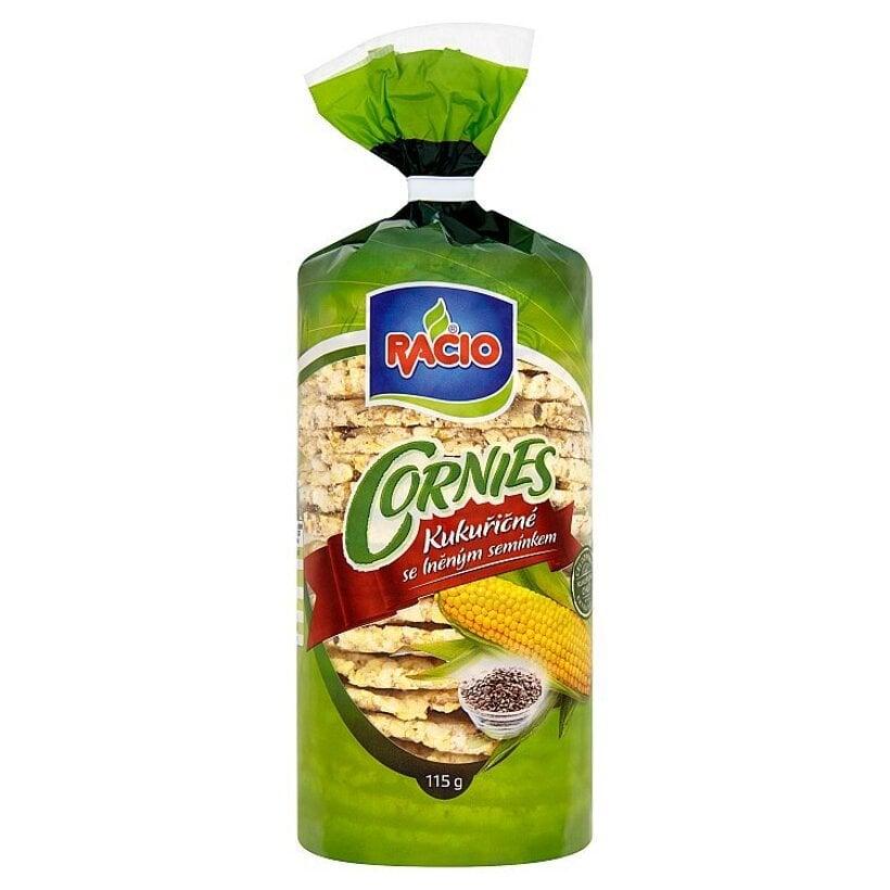 Racio Cornies kukuričné chlebíčky s ľanovým semienkom 115 g