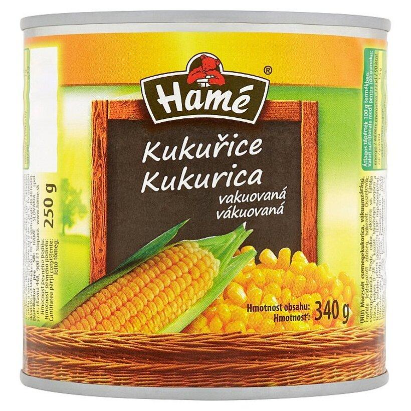Hamé Kukurica vákuovaná 340 g