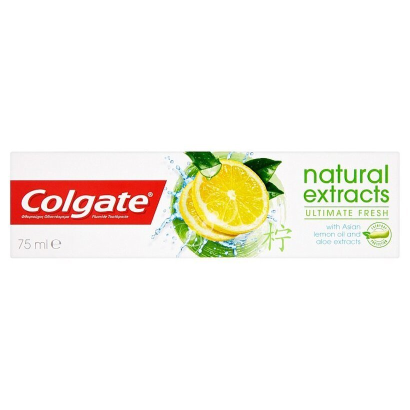 Colgate Natural Extracts Ultimate Fresh zubná pasta 75 ml