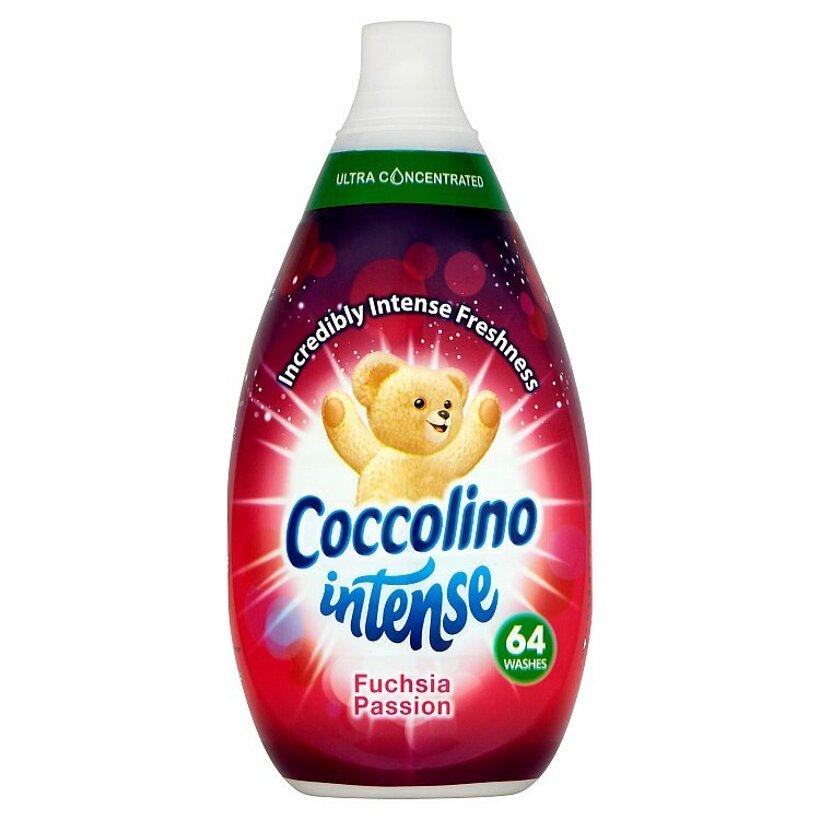 Coccolino Intense Fuchsia Passion super koncentrovaný avivážny prípravok 64 praní 960 ml