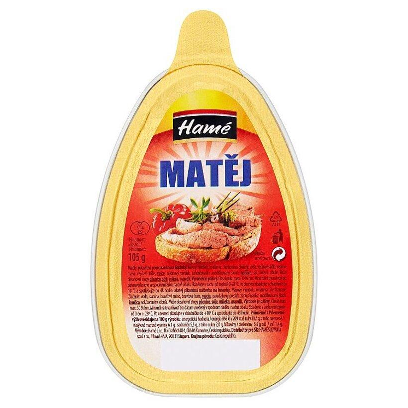 Hamé Matej pikantná nátierka na hrianky 105 g
