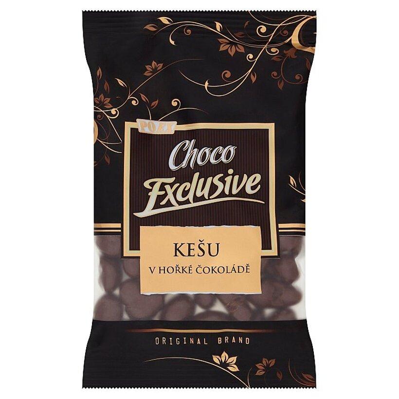 Poex Choco Exclusive Jadrá kešu orechov v horkej čokoláde 150 g