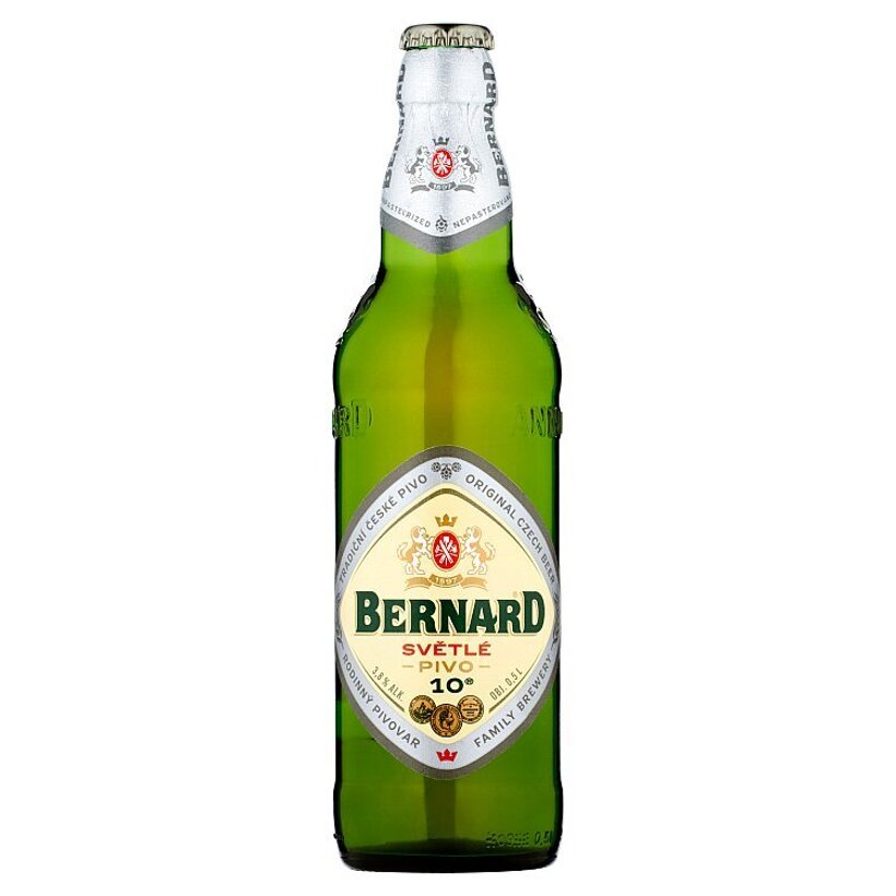 Bernard Svetlé výčapné pivo 0,5 l