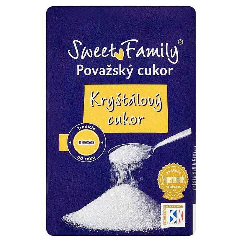 Sweet Family Kryštálový cukor 1 kg