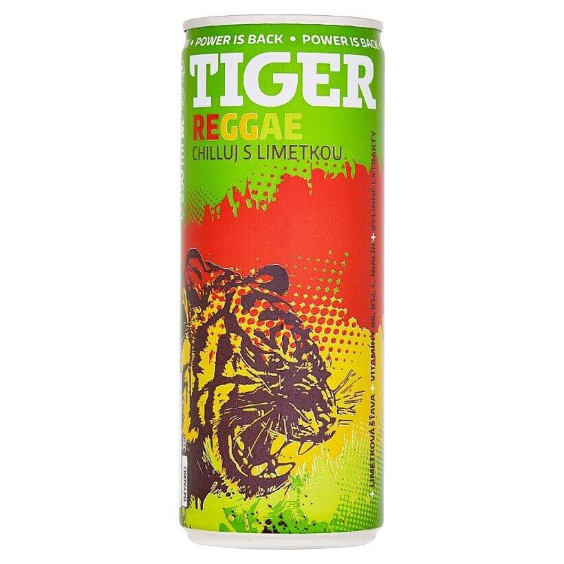 Tiger Reggae energetický nápoj 250 ml