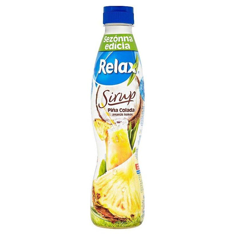 Relax Sirup Piňa Colada ananás kokos 700 ml