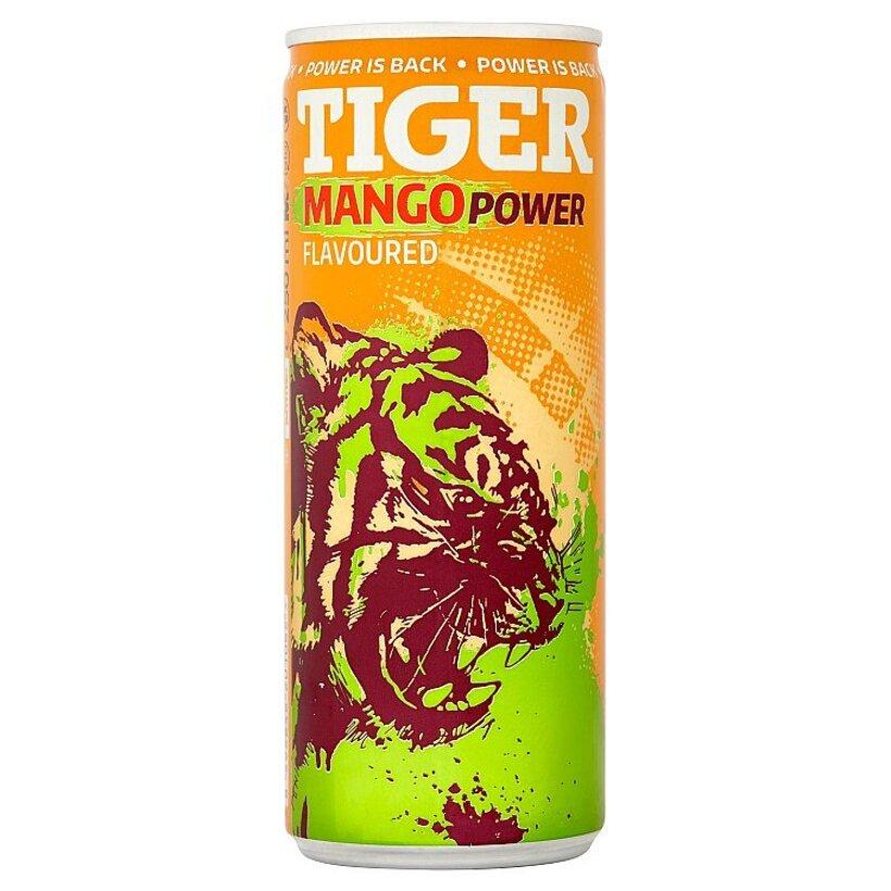 Tiger Mango Power energetický nápoj 250 ml