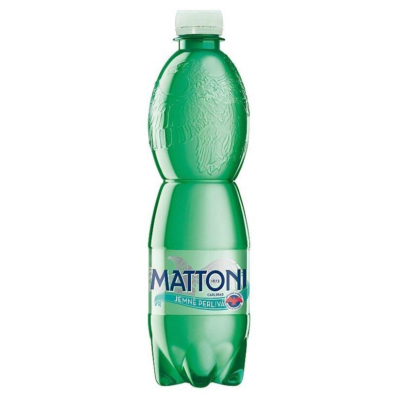 Mattoni Prírodná minerálna voda sýtená 0,5  l
