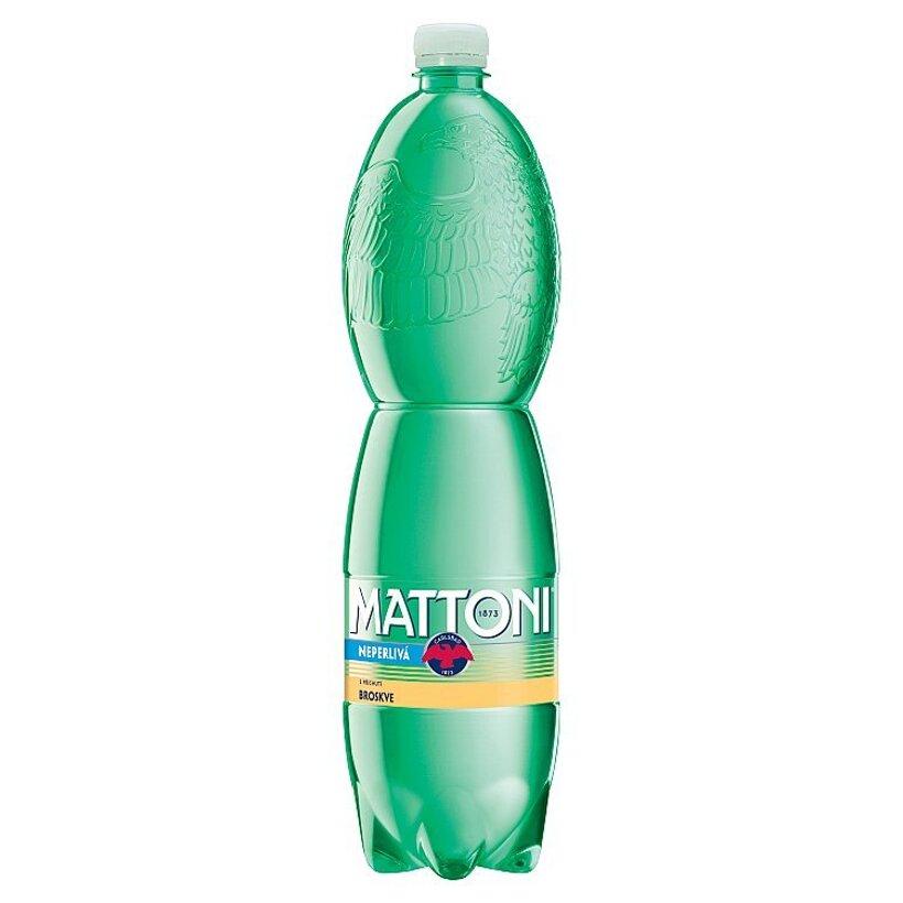 Mattoni Nealkoholický nápoj pripravený z prírodnej vody s arómou broskyne 1,5 l