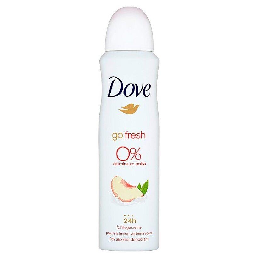 Dove Go Fresh Peach & Lemon Verbena Scent dezodorant sprej 150 ml