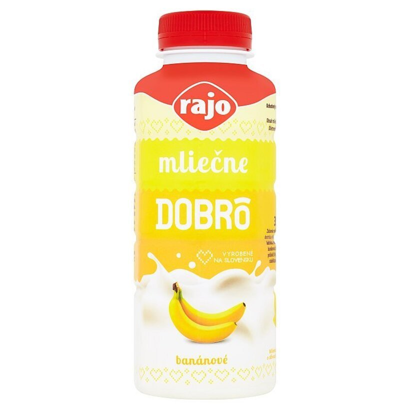 Rajo Mliečne Dobrô banánové 350 ml