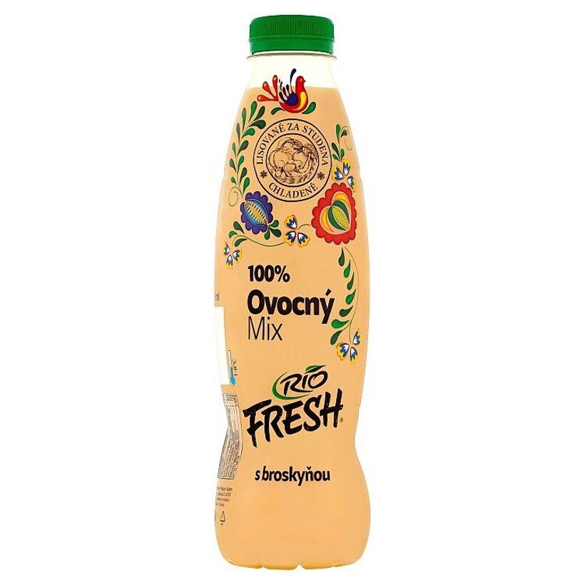 Rio Fresh 100% ovocný mix s broskyňou 750 ml