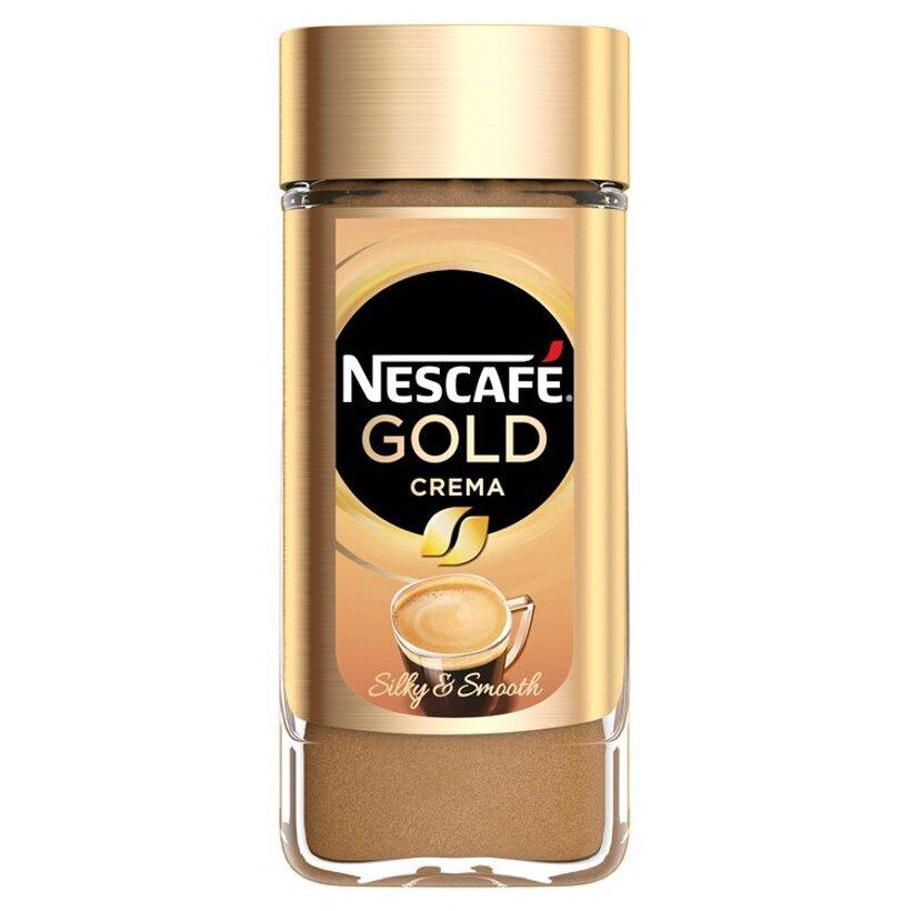 NESCAFÉ GOLD Crema, instantná káva, 100 g