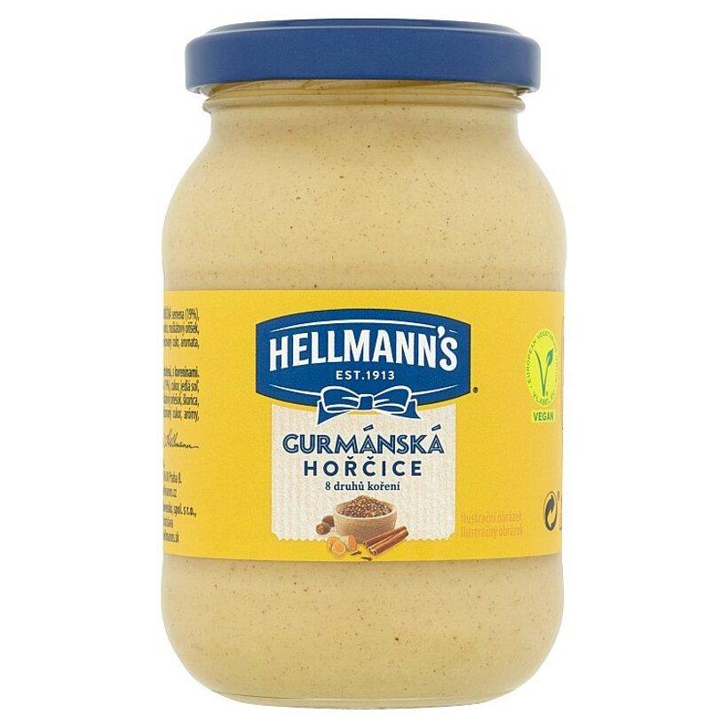 Hellmann's Gurmánska horčica ochutená s koreninami 240 g