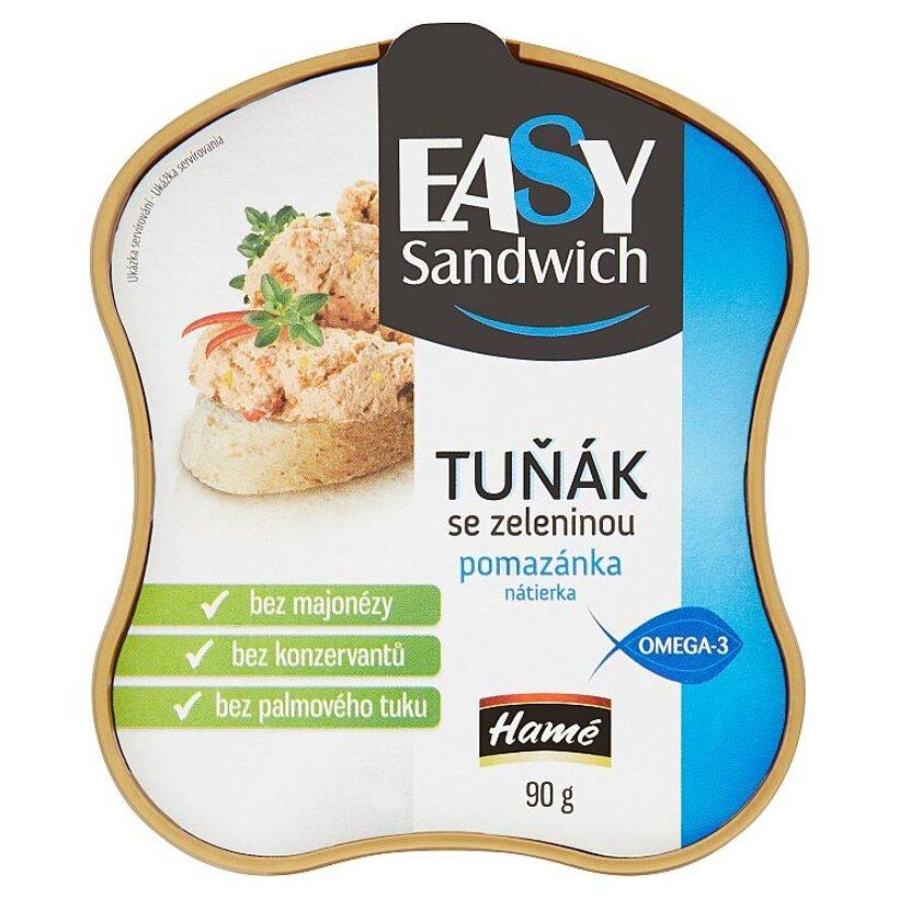 Hamé Easy Sandwich Tuniaková nátierka so zeleninou 90 g