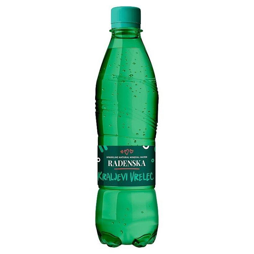 Radenska Kraljevi Vrelec prírodná minerálna voda 0,5 l