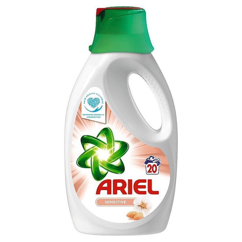 Ariel Sensitive Tekutý Prací Prostriedok 1,3 l Na 20 Praní