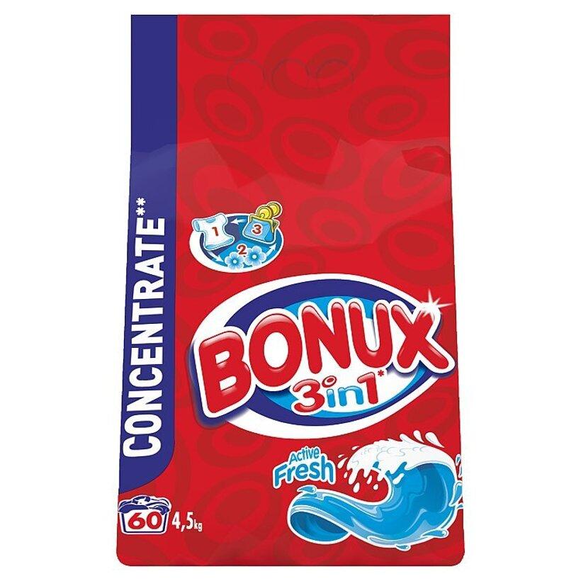 Bonux Active Fresh Prací Prášok 4,5 kg