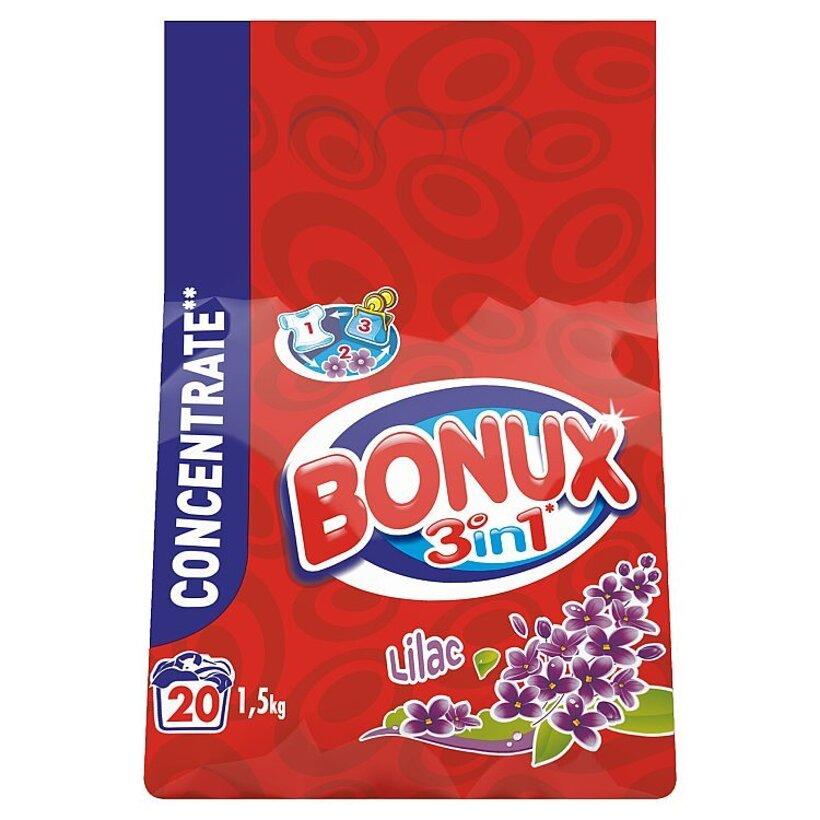 Bonux Lilac Prací Prášok 1,5 kg