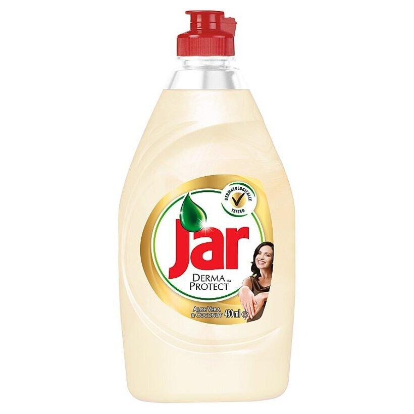 Jar Dermaprotect Aloe Vera & Coconut prostriedok na umývanie riadu 450 ml