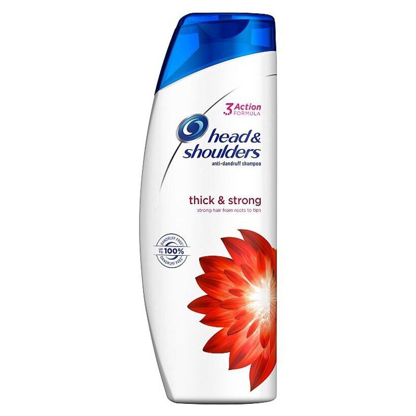 Head & Shoulders Thick & Strong Šampón Proti Lupinám 400 ml