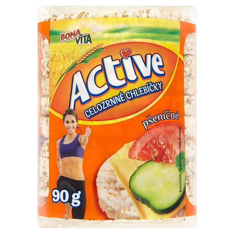 Bona Vita Active Celozrnné chlebíčky pšeničné 90 g