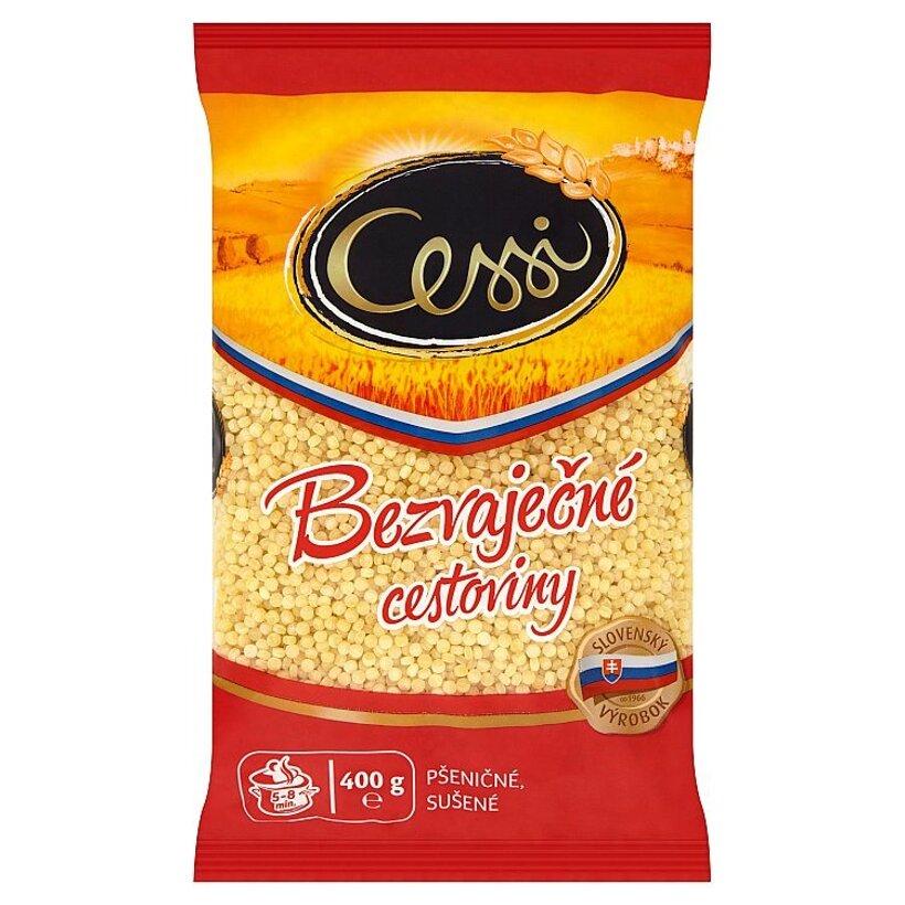 Cessi Bezvaječné cestoviny pšeničné, sušené tarhoňa 400 g