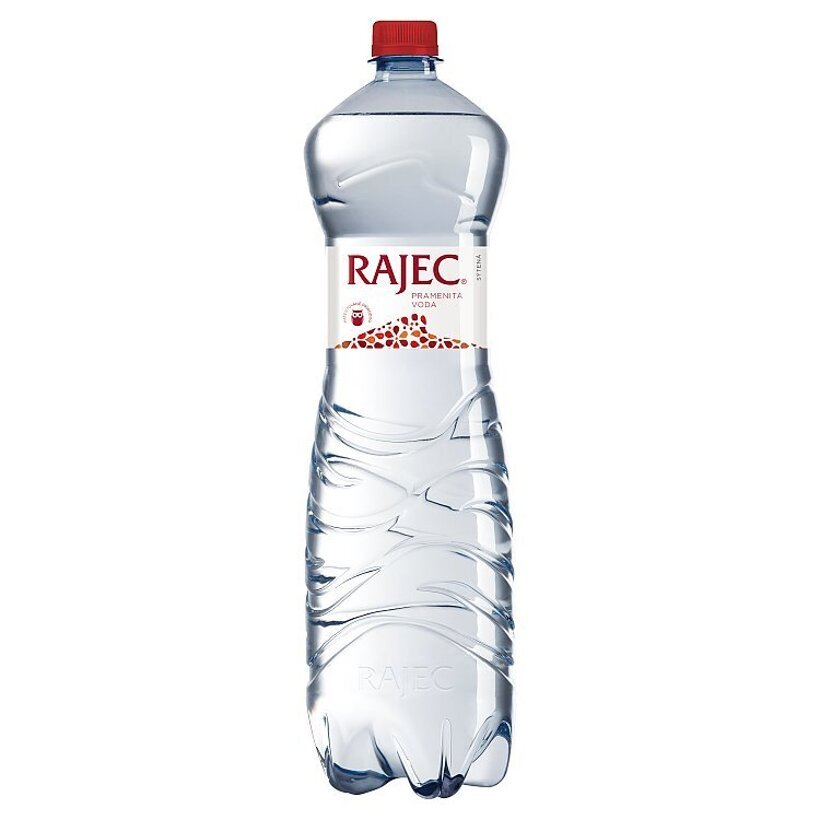 Rajec Pramenitá voda sýtená 1,5 l