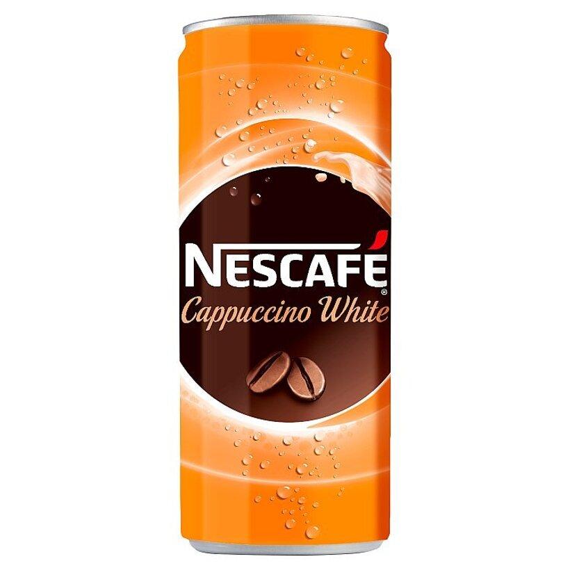 NESCAFÉ Cappuccino White, ľadová káva, 250 ml
